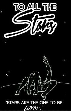 blackandwhite nature stars