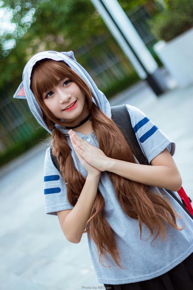 #cosplay #cute #girl #festival #canon #portrait
