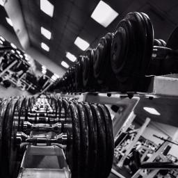 gym workout blackandwhite photography