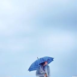 fall negativespace minimal minimalism umbrella