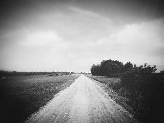blackandwhite road landscape freetoedit nature