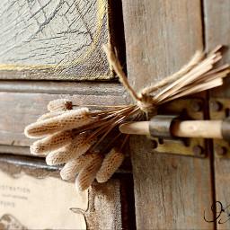 Flower antique iron