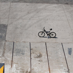 FreeToEdit texture view scene vehicle bicycle shot