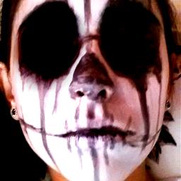 wppspooky spookyface grimeface grimeart grimeartselfie