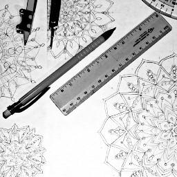 mandalas pencildrawing mandala pencilart