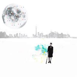collage collageart digitalart minimalism