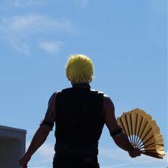 hair yellow photosfromthestreet