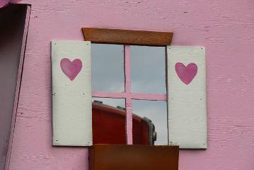 freetoedit heart window reflexion