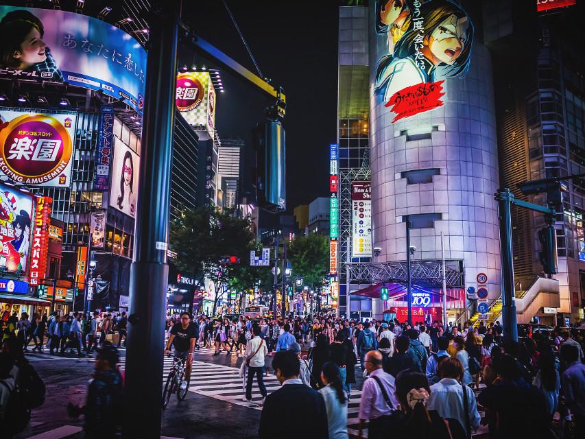 All pics📷&contact📲Facebook Page▶️koukichi.takahashi.photography◀️ #photographer #ktpics #photography   #shibuya #tokyo #japan #city #cityscape #people #urban #night #DrasticEdit #street