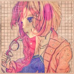freetoedit remixit anime animegirl
