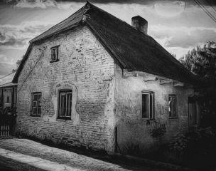 freetoedit house blackandwhite old sun